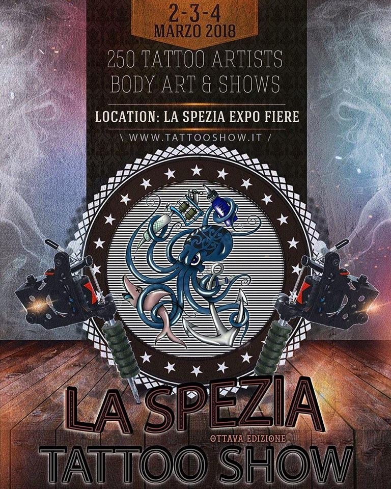 Tattoos by pepper for La tattoo convention